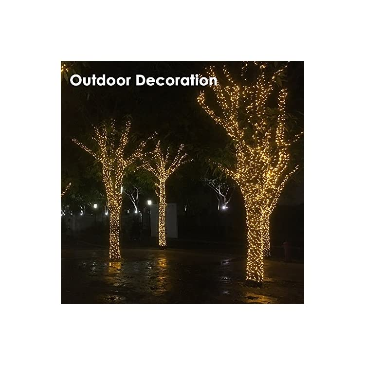 500-LEDs-172ft-Transparent-White-Clear-Wire-Cable-Fairy-String-Tree-Lights-8-Modes-IP44-Waterproof-for-Xmas-Party,-Indoor-or-Outdoor,-Garden,-Wedding,-Home-Decoration-(Warm-White)