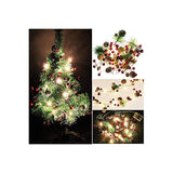 Christmas-Lights,-Garland-with-Lights-Fairy-Lights-Pine-Cone-Berries-Indoor-and-Outdoor-Christmas-Tree-Lights-Winter-Holiday-New-Year-Decor,-Battery-Powered.-(2M-20-Lights)-(Pine-Cone)