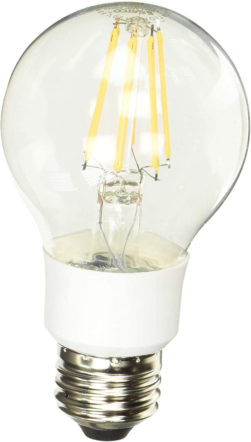 S9845-Medium-Light-Bulb-in-White-Finish,-4.50-inches,-Clear