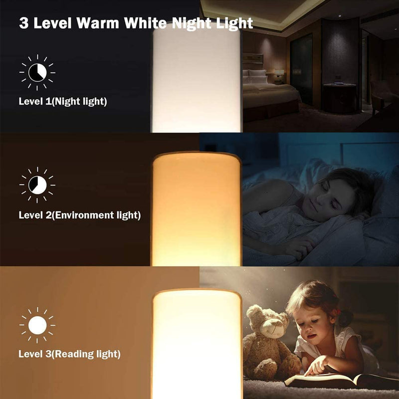 Table-Lamp,-Eye-Caring-Bedside-Lamps-+-Dimmable-Warm-White-Light-&-Col