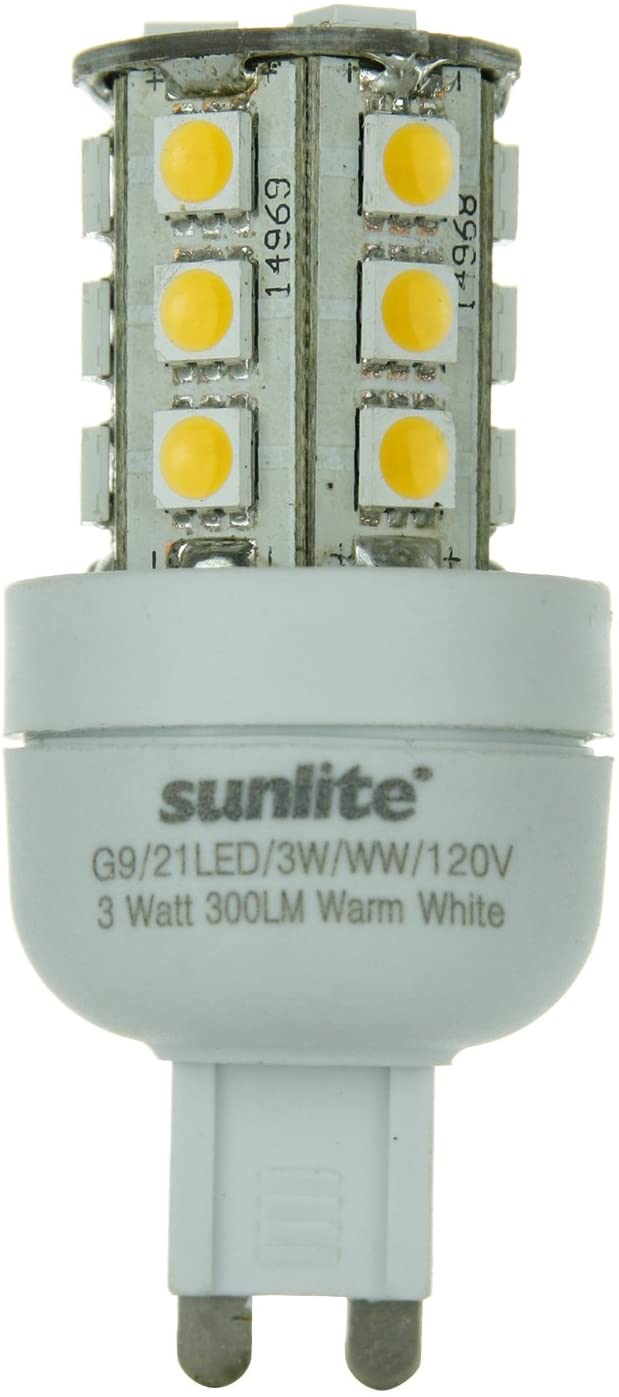 G9/21LED/3W/WW/120V-3-watt-G9-Based-Bi-Pin-Lamp,-Warm-White