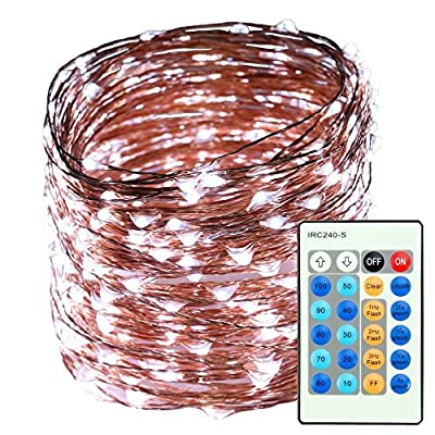 Indoor-String-Lights,-500LED-50M-165ft-Christmas-Lights,-24-Button-Dimmable-Copper-Wire-Lights-Waterproof-Silver-Rope-Lights-for-Garden/Homes/Patio/Wedding/Party/Christmas/Halloween-(Cool-White)