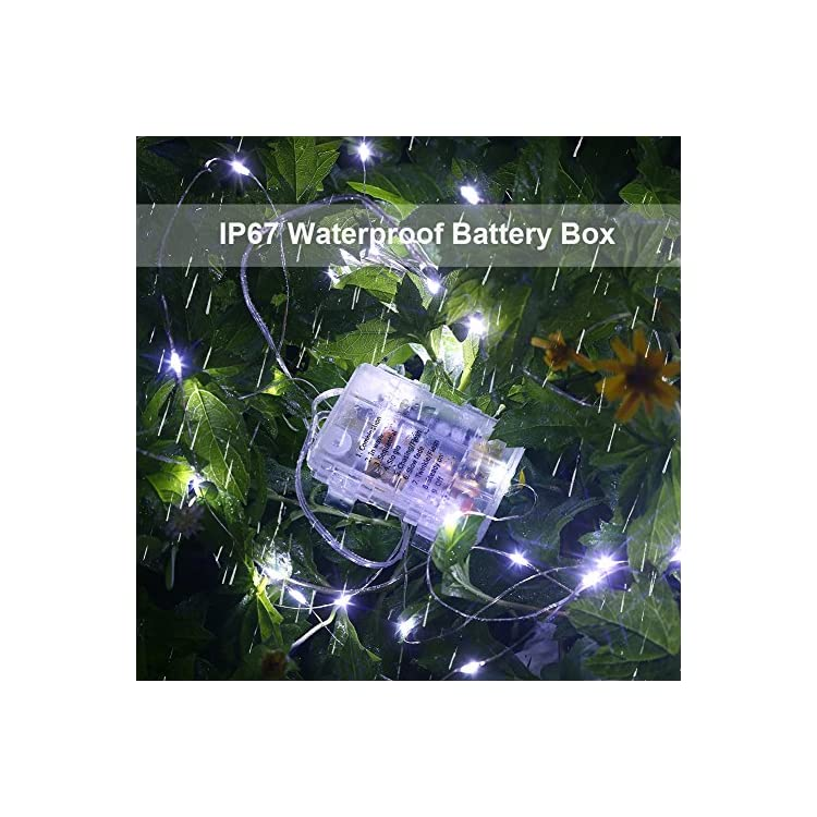 GDEAER-4-Pack-Fairy-Lights-Christmas-Decor-16.4-Ft-50-Led-Battery-Operated-Christmas-Lights-with-Remote-Waterproof-8-Modes-Twinkle-Firefly-String-Lights-for-Party-Bedroom-Wedding-Decorations