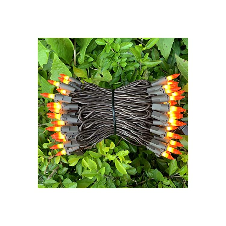 200-Orange-Yellow-Christmas-Lights,-Brown-Cord-Outdoor-String-Lights-66-Ft,-UL-Certified-Commercial-Candy-Corn-Lights-Set,-for-Halloween,-Garden,-Indoor-Outdoor(Pack-of-2-Sets-100).