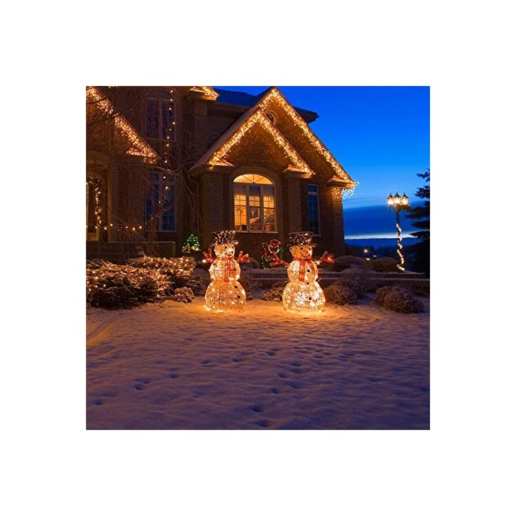 33FT-100LEDs-Battery-Operated-String-Lights-with-Remote-Control,8-Modes,Waterproof-Battery-Powered-LED-Fairy-Lights-Indoor/Outdoor-for-Bedroom,Christmas,Parties-(Pack-of-2-Warm-White)