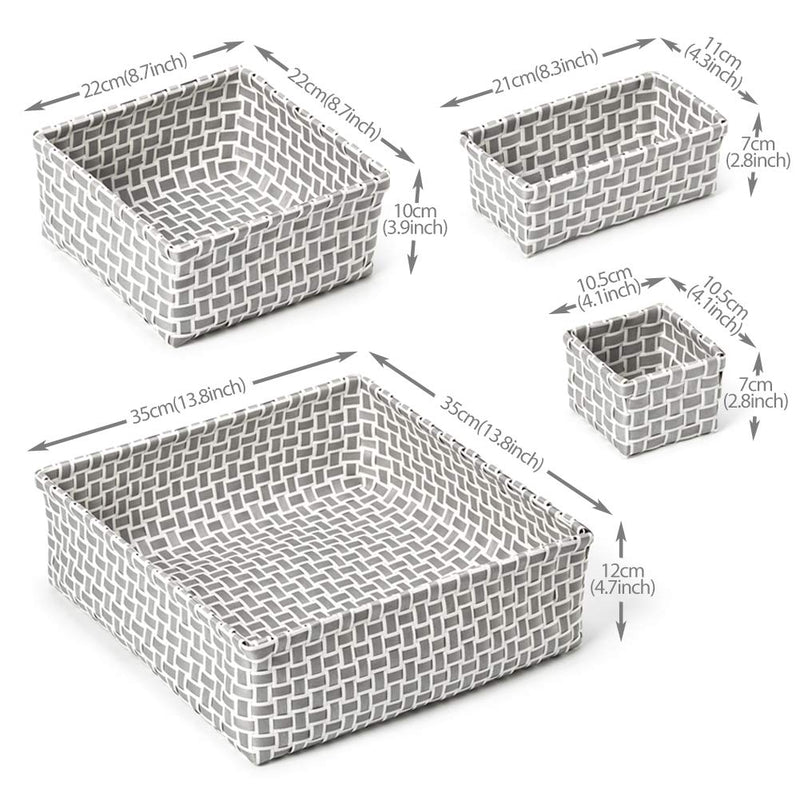 EZOWare-Set-of-8-Organizer-Basket-Bins,-Woven-Storage-Box-Tote-Contain