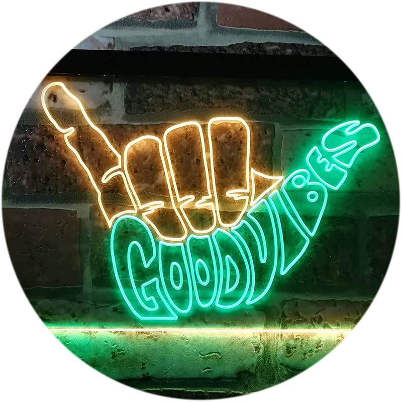 Good-Vibes-Only-Hand-Party-Decoration-Dual-Color-LED-Neon-Sign-Green-&
