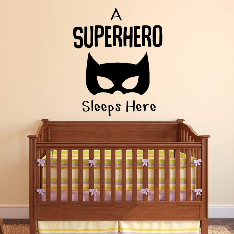 Baby-Nursery-Vinyl-Art-Wall-Decal---A-Superhero-Sleeps-Here---26'-x-23