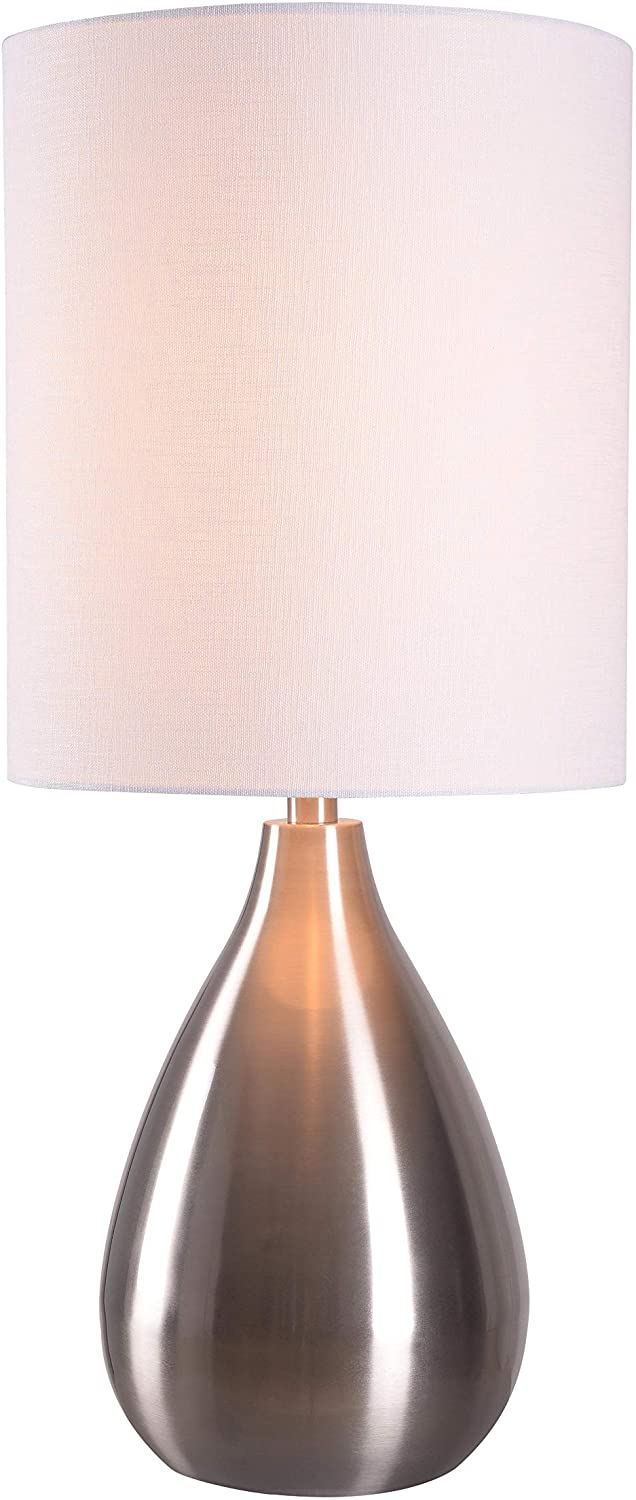 Kenroy-32156BS-Transitional-One-Light-Table-Lamp-from-Droplet-Collecti