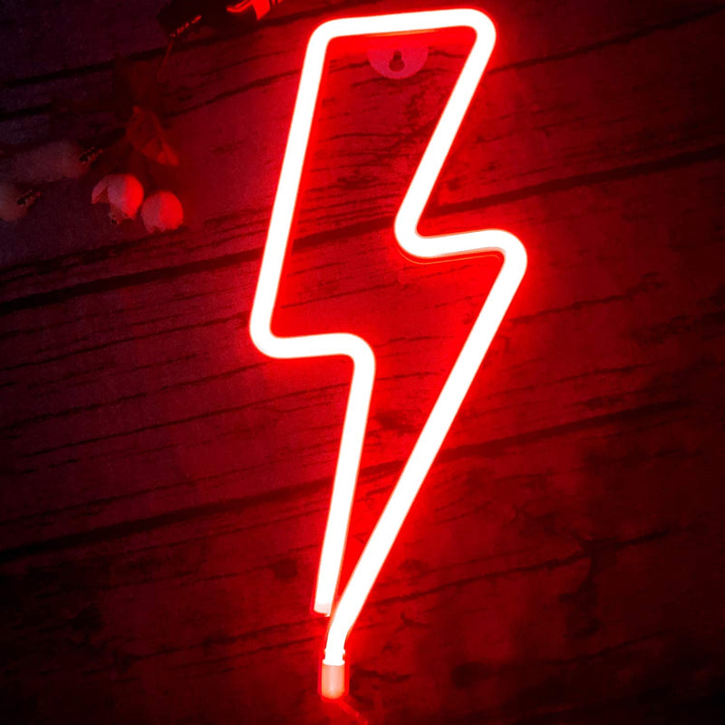 LED-Lightning-Shape-Neon-Sign-Light-Art-Decorative-Lights-Wall-Decor-f
