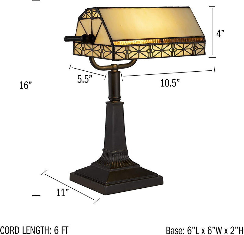 A1000840-Bankers-Lamp-Ð-Tiffany-Table-or-Desk-Light-Stained-Glass-Shad
