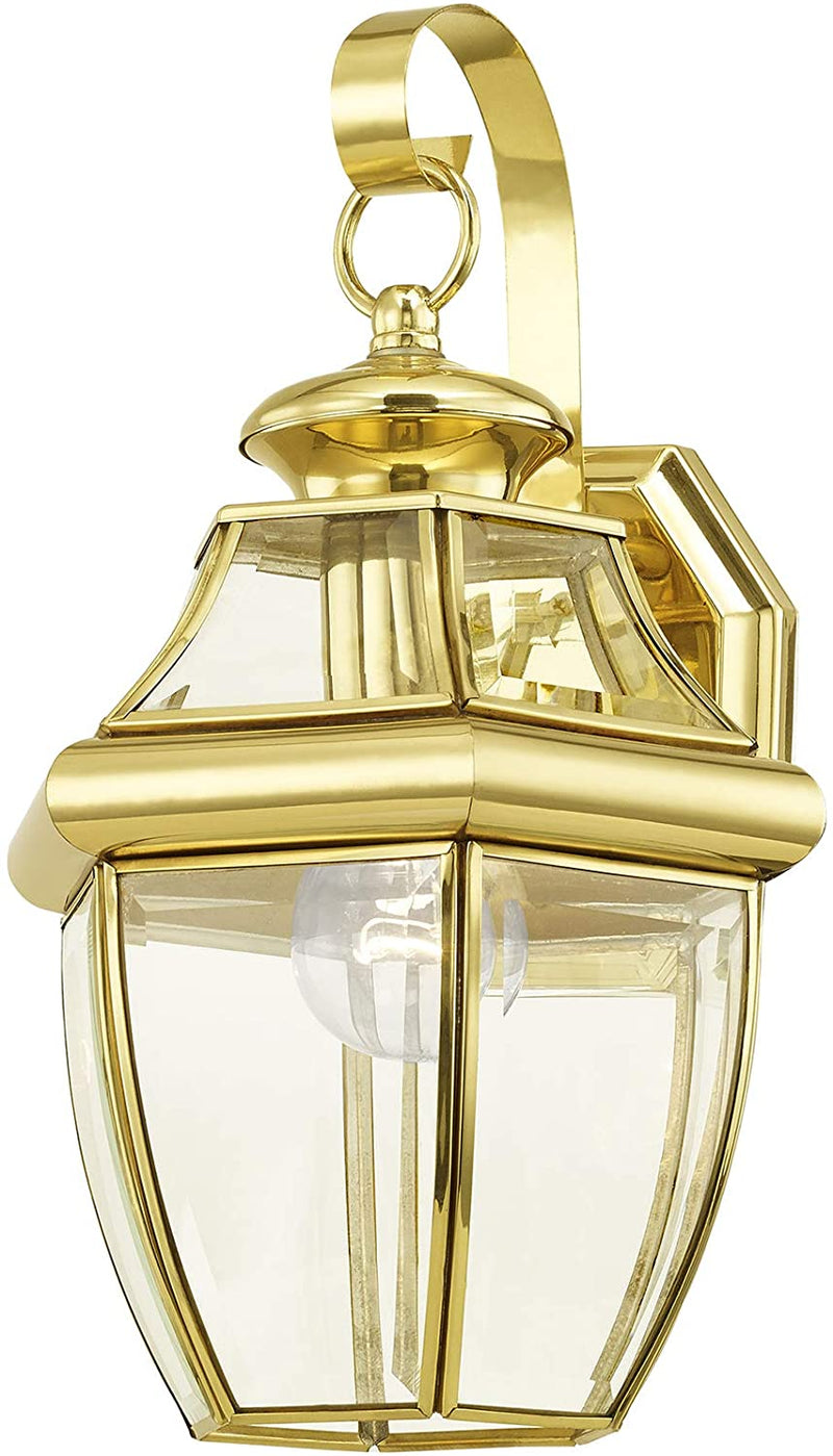 2151-02-Monterey-1-Light-Outdoor-Polished-Brass-Finish-Solid-Brass-Wal