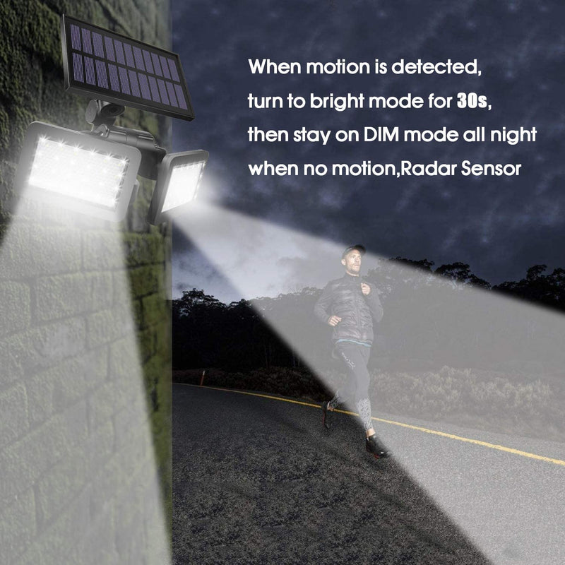 Solar-Outdoor-Radar-Sensor-Spotlight-48-LED-Waterproof-with-360-Degree