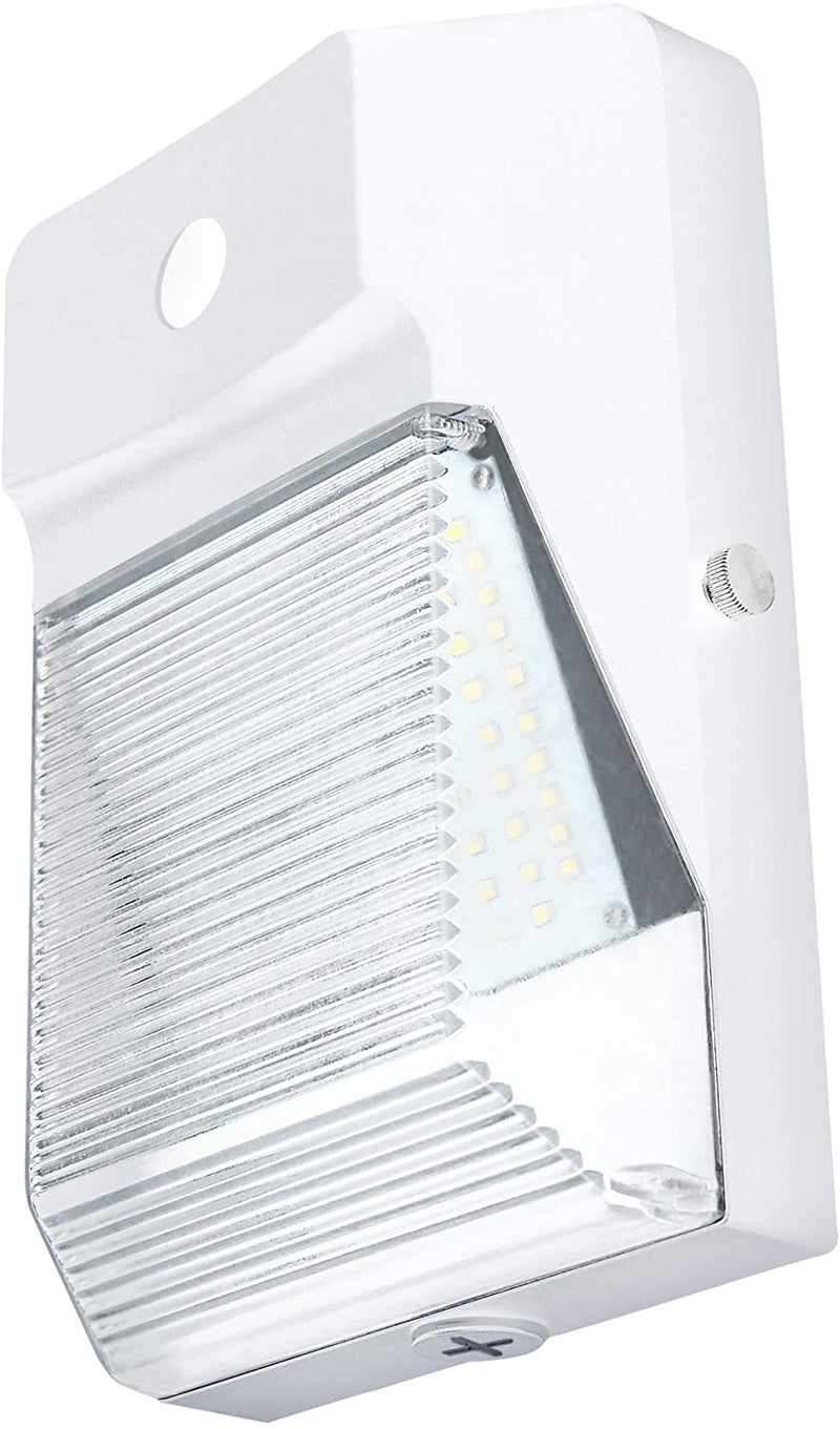 LED-Wall-Pack-with-Photocell,-20W-(150-Watt-Replacement)-Outdoor-White