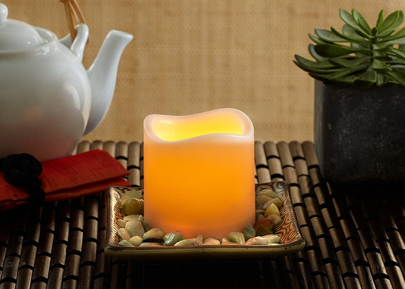 Flameless-Candles-Set-of-2-(Ivory-3'x-6')-Flickering-Led-Candles-Batte