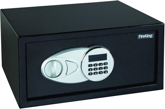 Fire-King-LT1507-Laptop-Size-Electronic-Fire-Safe-with-Key,-19.6-lbs,-