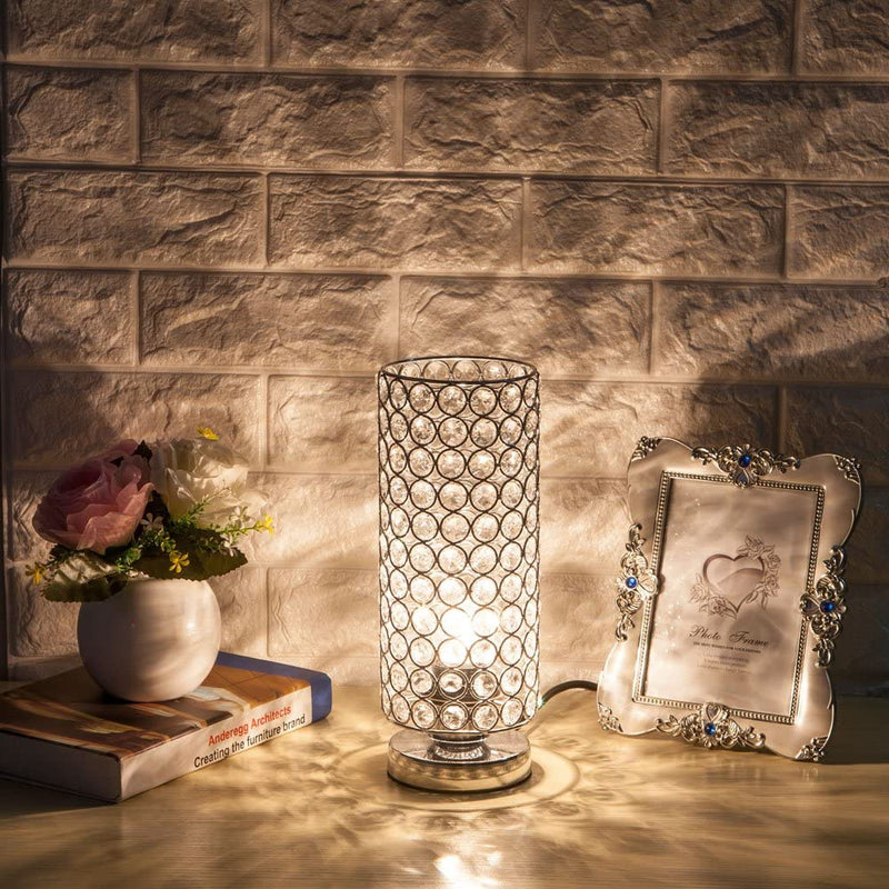 Crystal-Table-Lamp,-Nightstand-Decorative-Room-Desk-Lamp,-Night-Light-