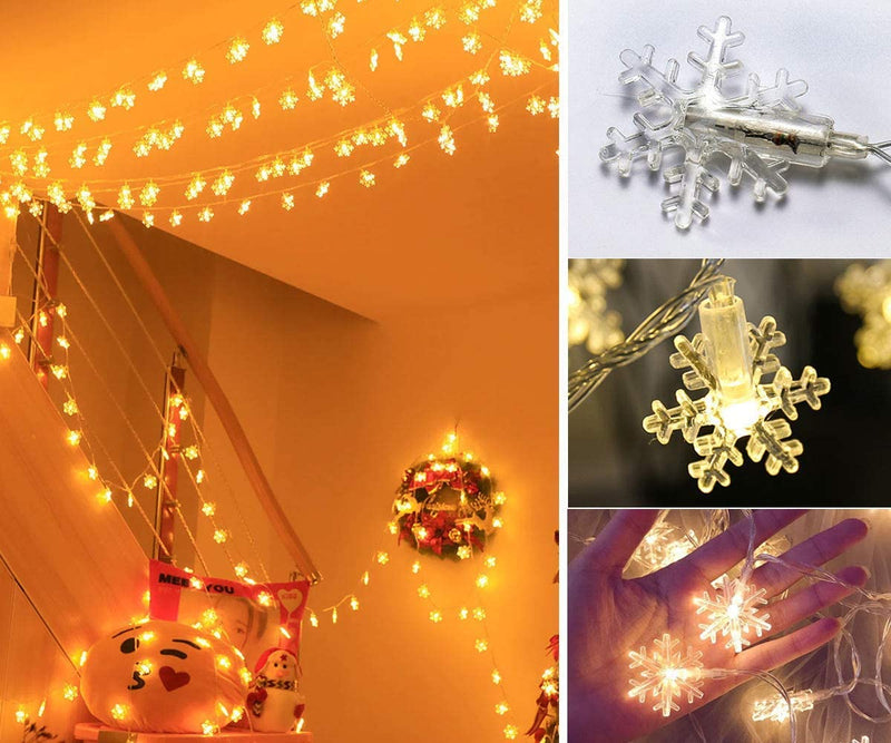 Home-Decor-Lights,40-LED-Window-Curtain-String-Lights-Wedding-Party-Ch