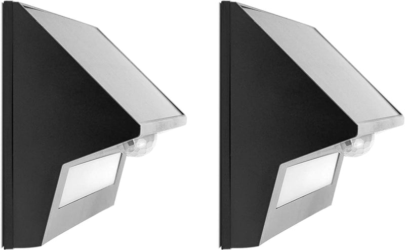 LED-Solar-Lights-Outdoor,-Half-Cut-Off,-Wall-Pack-Fence-Sconce,-4000K-