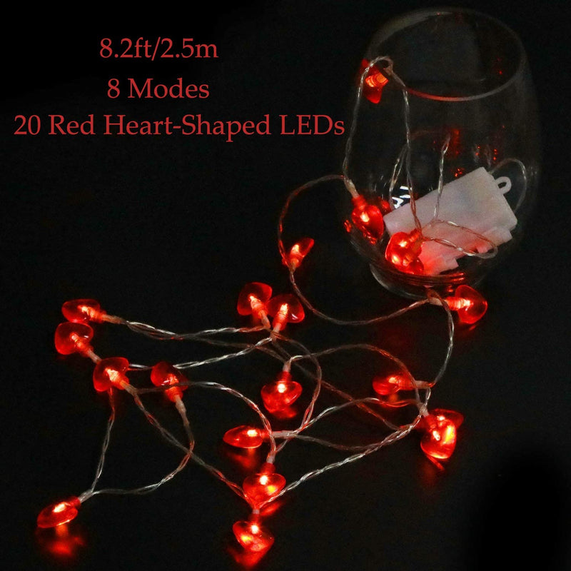 ValentineÕs-Day-String-Lights-Decorations---8.2ft/2.5m-20-Red-Heart-Sh