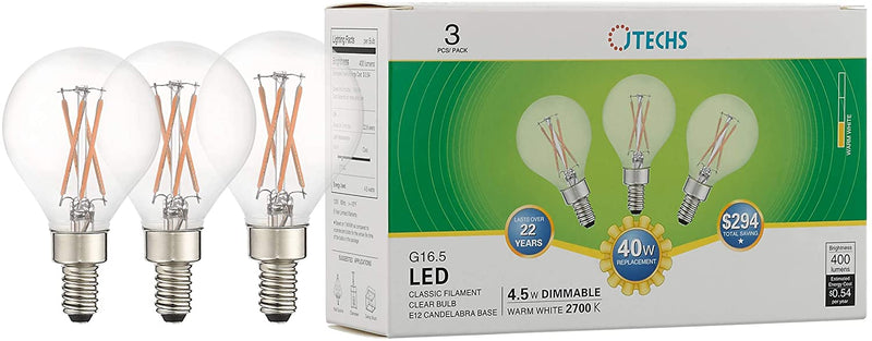 JTechs-3-Pack-Clear-G16.5-LED-40-Watt-Replacemt-400-Lumens.-Often-Used-in-Vanity-Lights-and-Mirrors.-Warm-White-Light-Provides-an-Accurate-Shot-of-How-You-Will-Look-in-Social-situations