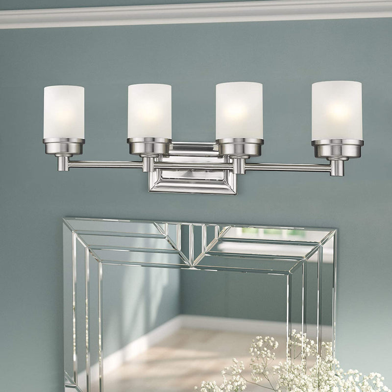 Traditional-Interior-Bath-Lighting-Fixture,4-Lights-Bathroom-Vanity-Li