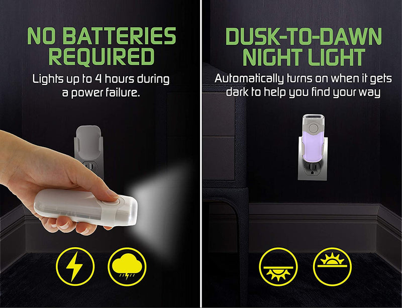3-in-1-6-LED-Power-Failure-Light,-Rechargeable-Flashlight,-and-Plug-in
