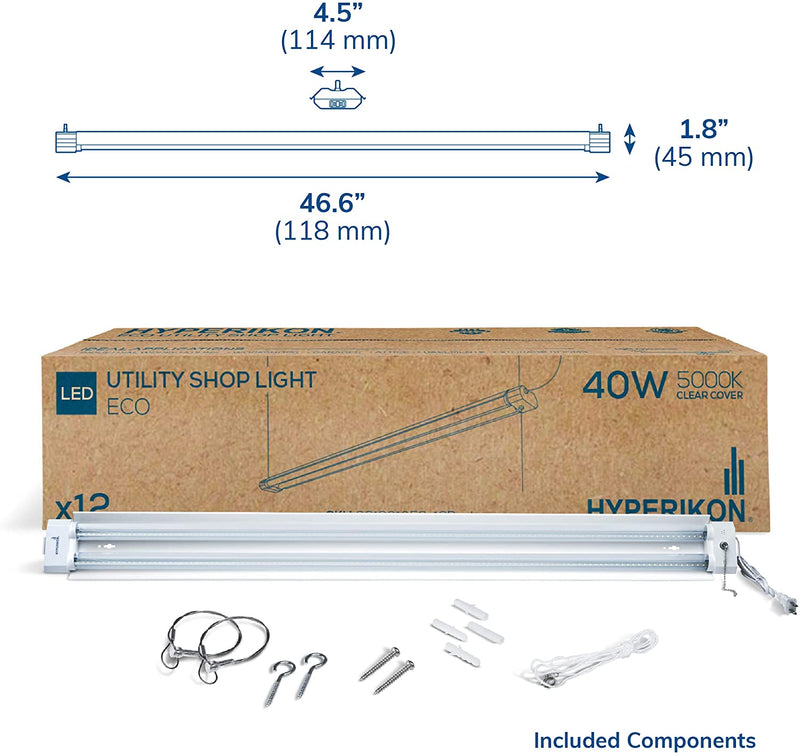 4-Foot-LED-Linkable-Shop-Light,-40W=100W,-Double-Tube,-Shop-and-Garage