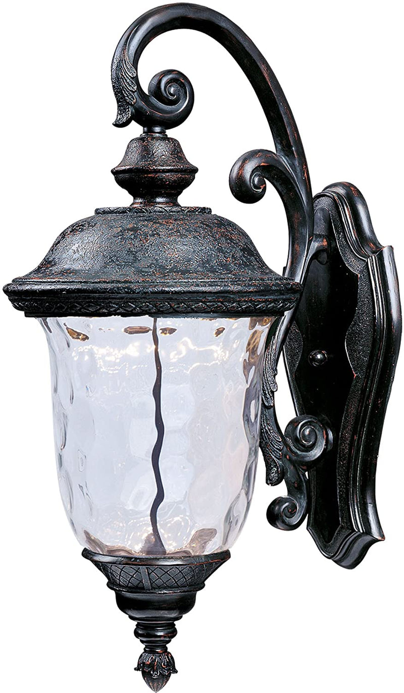 55496WGOB-Carriage-House-Water-Glass-Outdoor-LED-Wall-Sconce,-1-Light-
