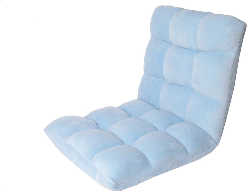 RC64-26BL-N1-WT-Lounge-Adjustable-Recliner-Rocker-Memory-Foam-Armless-