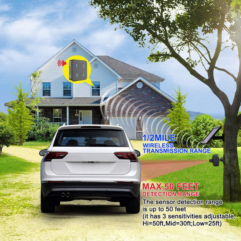 1/2-Mile-Solar-Wireless-Driveway-Alarm--Up-to-50FT-Wide-Sensor-Range-3