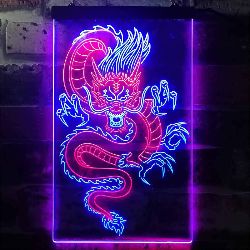Chinese-Dragon-Room-Display-Dual-Color-LED-Neon-Sign-Red-&-Blue-12'-x-