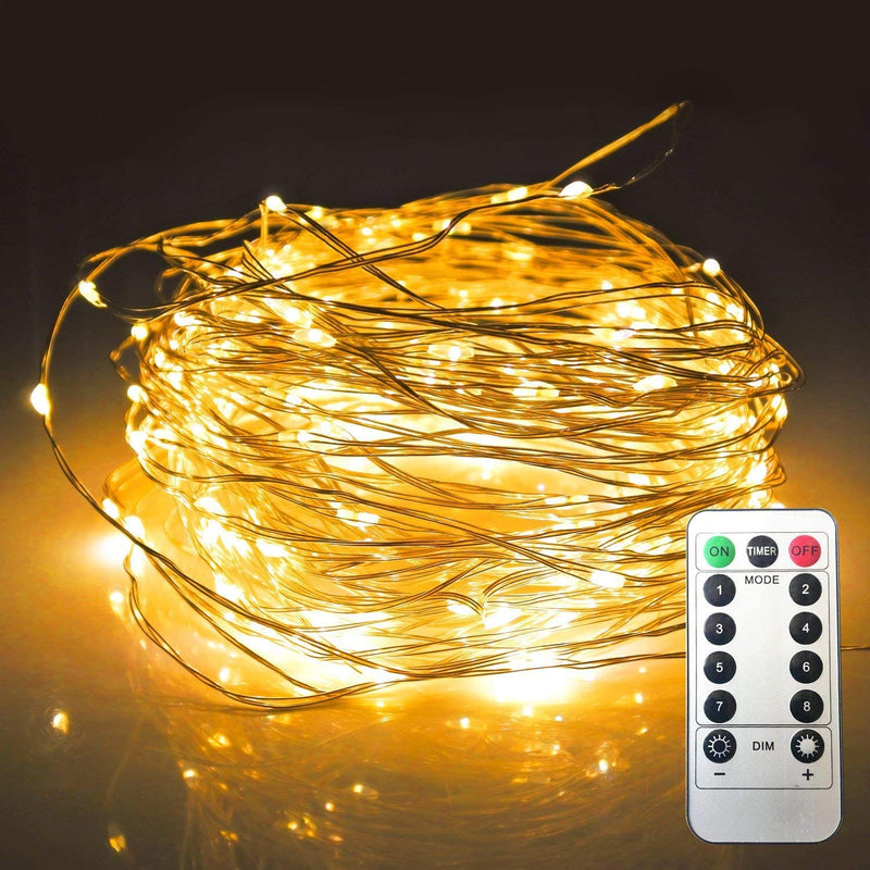 LED-String-Lights-with-Remote-Control-15foot-50LEDs---Waterproof-Decorative-Lights-for-Outdoor-Indoor-Bedroom-Garden-Patio-Wedding-Parties(Warm-White)