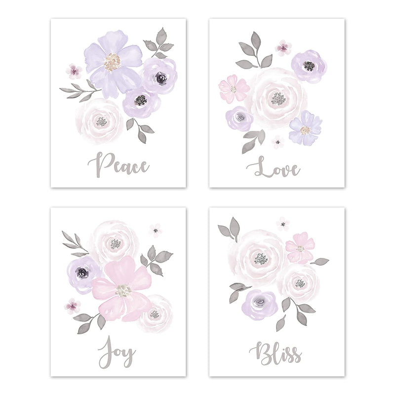 Lavender-Purple,-Pink-Grey-and-White-Wall-Art-Prints-Room-Decor-for-Ba