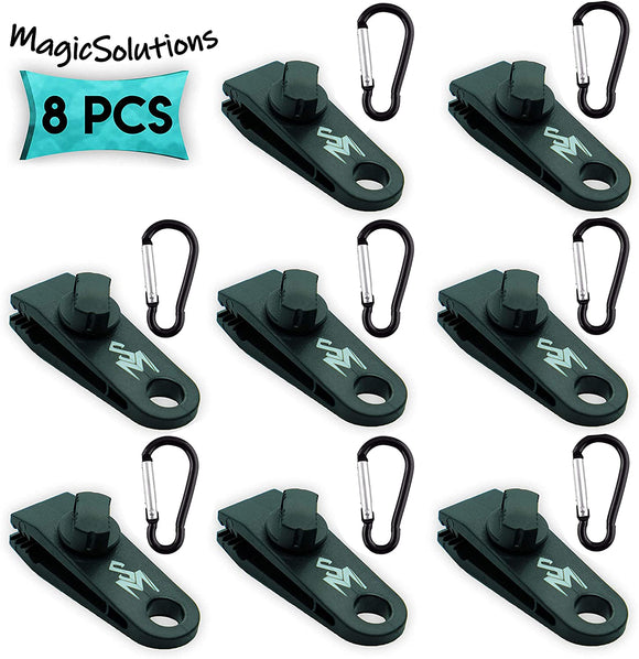 (8-Pack)-Tarp-Clips-with-Carabiner-|-Great-for-Outdoors-Camping-Awning