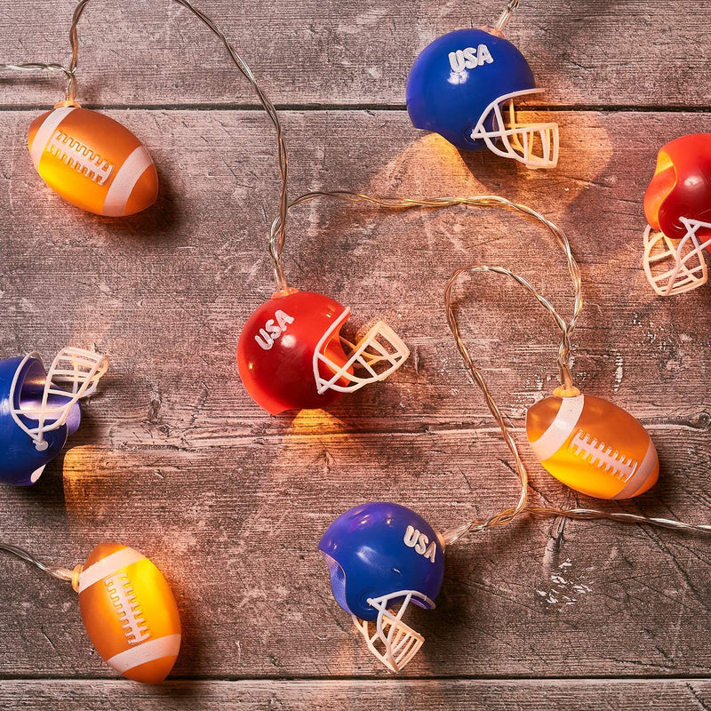 Lights4fun,-Inc.-10-American-Football-&-Helmet-Indoor-Battery-Operated-LED-String-Lights