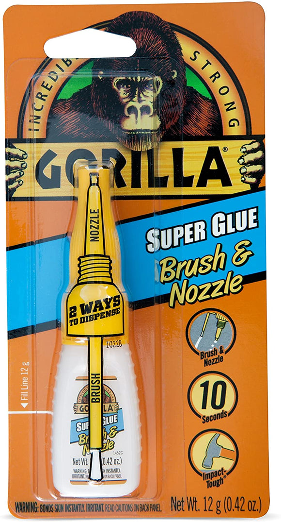 Super-Glue-with-Brush-&-Nozzle-Applicator,-12-Gram,-Clear,-(Pack-of-1)