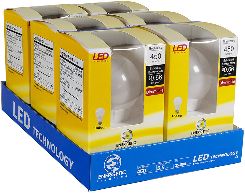 LED-Light-Bulbs,-A19