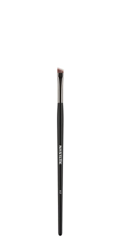 Nastelle - N117 Angled Eyebrow & Eyeliner Brush - MUtinArt Make Up Store