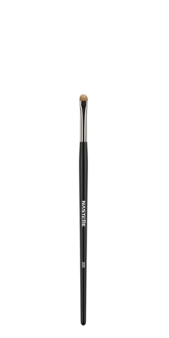 Nastelle - N200 Small Short Flat Lash Line & Pencil Blending Brush - MUtinArt Make Up Store