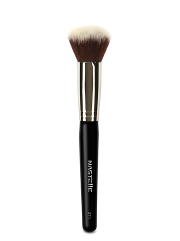 Nastelle - N371 Expert Round Foundation Brush - MUtinArt Make Up Store