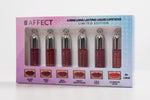 Affect Cosmetics - 6 Mini Long Lasting Lipsticks