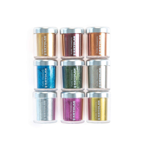 Kryolan Professional Make Up - Pure Pigments Metallics / Matt - MUtinArt Make Up Store