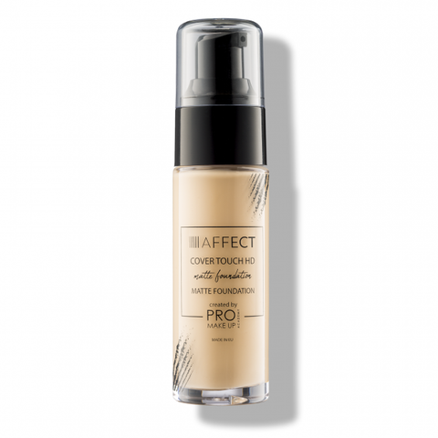 Affect Cosmetics - Cover Touch HD Matte Foundation - MUtinArt Make Up Store