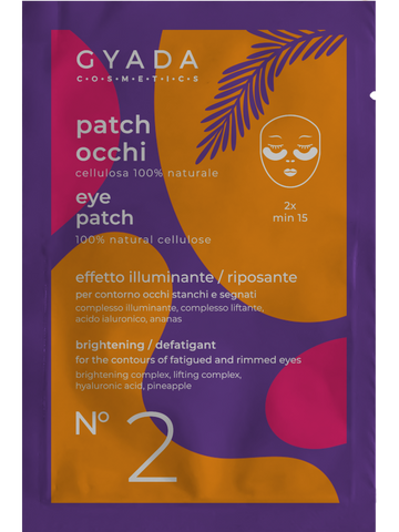 Gyada Cosmetics - Patch Occhi Illuminante Riposante - MUtinArt Make Up Store