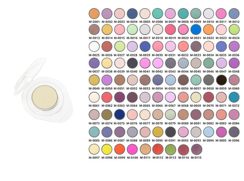 Affect Cosmetics - Yellow, Green, Blue Eyeshadow Matt Refill - MUtinArt Make Up Store