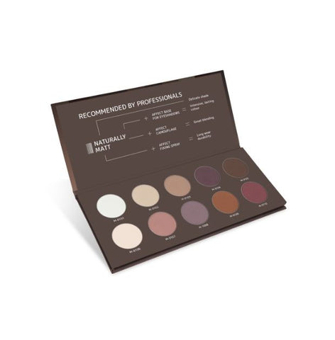 Affect Cosmetics - Naturally Matt PRO Eyeshadow Palette - MUtinArt Make Up Store