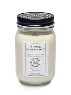 Apple Maple Bourbon Soy Candle