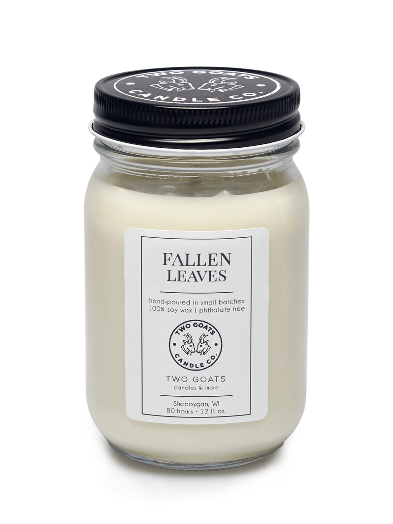 Fallen Leaves Scented Soy Candle