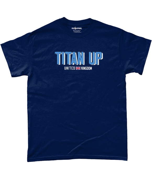 Tennessee 'Titan Up' UK Pick 6 Apparel T-Shirt - 2 Colours - Pick 6 Apparel